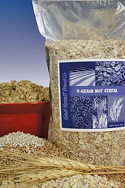 whole grain cereal photo