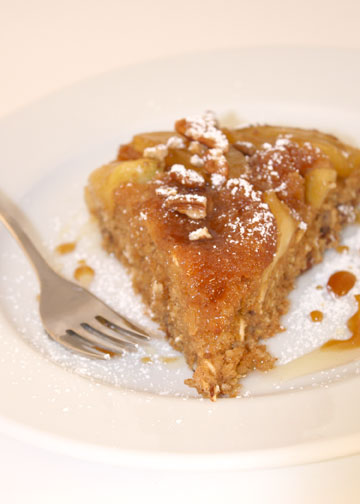Recipe for Whole Grain Baked Apple Pancake