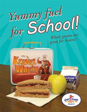 Kids Will Eat Whole Wheat Bread -- If It Tastes Great!