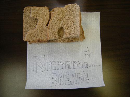bread tasting aftermath photo