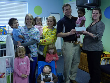 Special Kids organization photo with Great Harvest Murfreesboro owner
