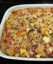 Cranberry Sage Stuffing Recipe Using Great Harvest Bread