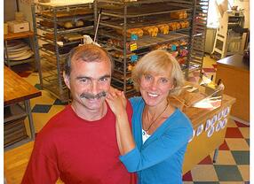 Bellingham, WA Great Harvest owners Hans and Rene Wendt