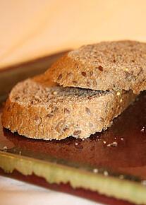 whole wheat bread slice