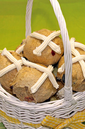 Hot Cross Buns, Great Harvest photo
