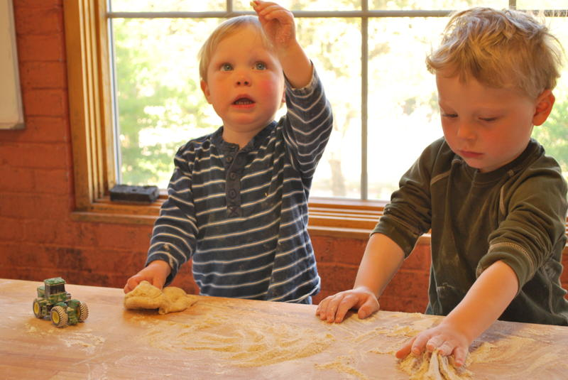 Raising Children and Whole Wheat Dough Together