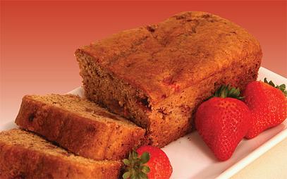 Great Harvest strawberry shortcake bread photo