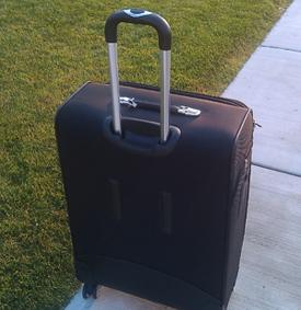 Great Harvest suitcase photo