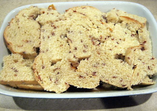 Christmas Day Breakfast: Cinnamon Chip Bread Casserole Recipe