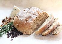 Rosemary Bleu whole wheat bread
