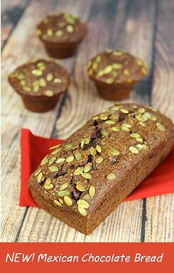mexican chocolate bread photo