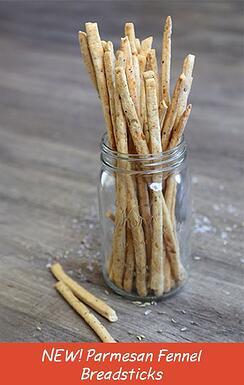 parmesanfennelbreadsticks