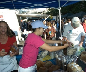 Where Does Smart Local Retail Meet Healthy Bread? At a Farmer's Market.