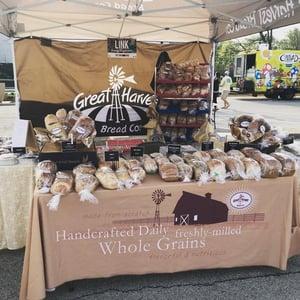 Great Harvest Bread Farmers market