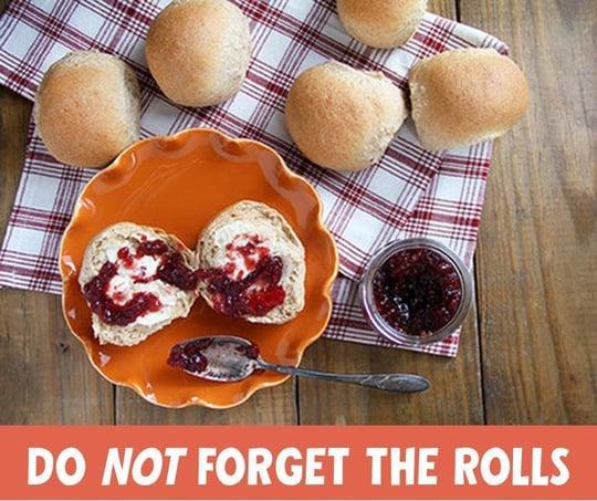 Order Thanksgiving rolls