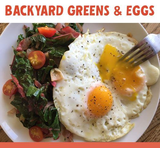 Why I Love Greens and Eggs