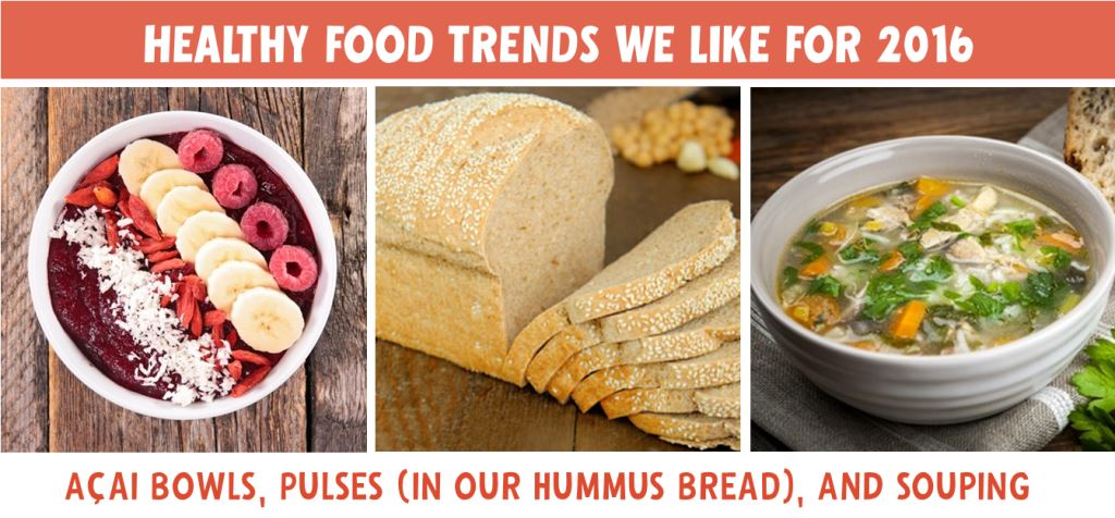 Healthy Food Trends We Want to See More of in 2016