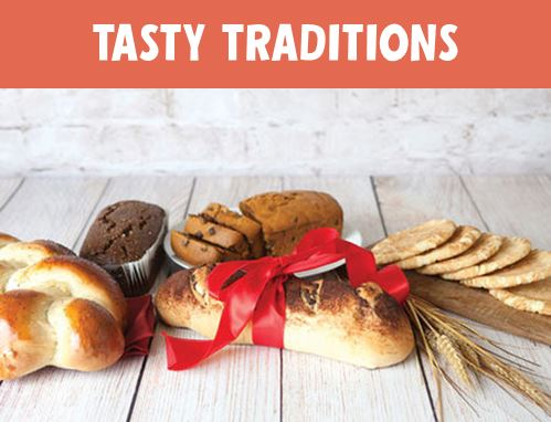 Our Tradition: Spread Happiness with Reliably Good Food & Gifts