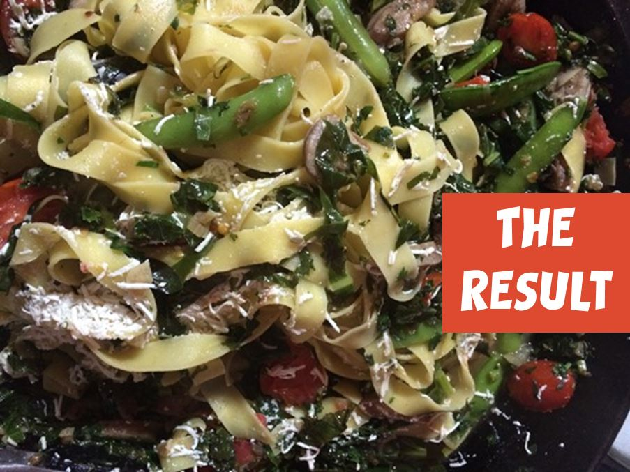 You Will Love This Garden Fresh Veggie & Pasta Recipe